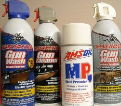 GUN CLEANING SUPPLIES