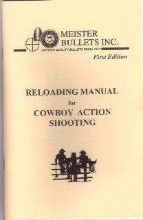 Meister Reloading Manual