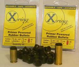 X-Ring Rubber Bullets .44 CAL.