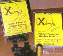 X-Ring Rubber Bullets .45 CAL. - BACK IN STOCK!!